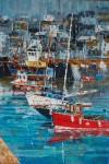 Fishing Boats & Yachts at Mevagissey