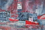 Red Fishing Boats